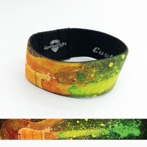 Bracelets de guitare - Arc en ciel
