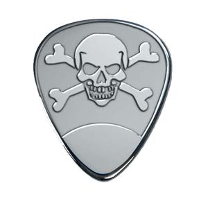 Médiator Argent - Crâne
