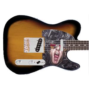 Guitare Pickguard - Imprimé - Tele